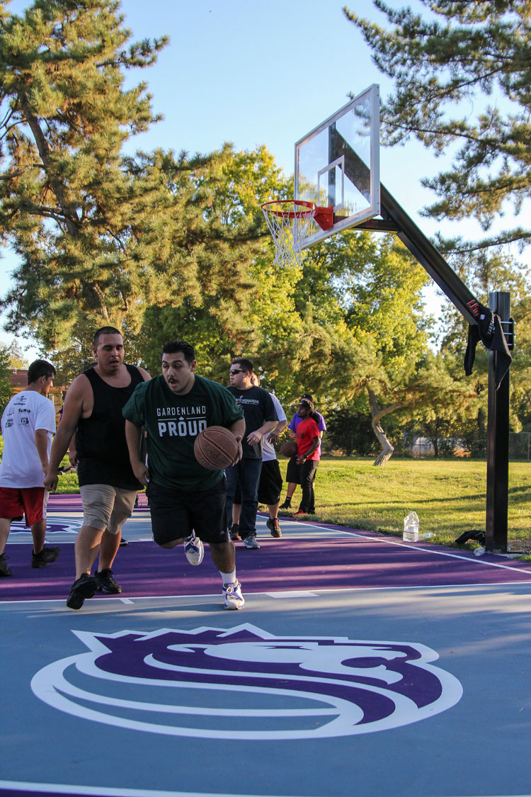 Kings Open Reconstructed Gardenland Park Courts